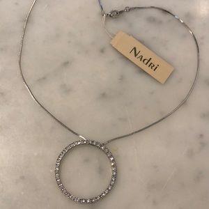 Nadri Circle Necklace NWT